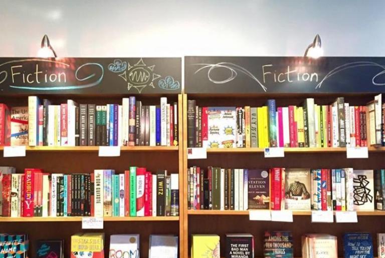 Avid Bookshop Shelves