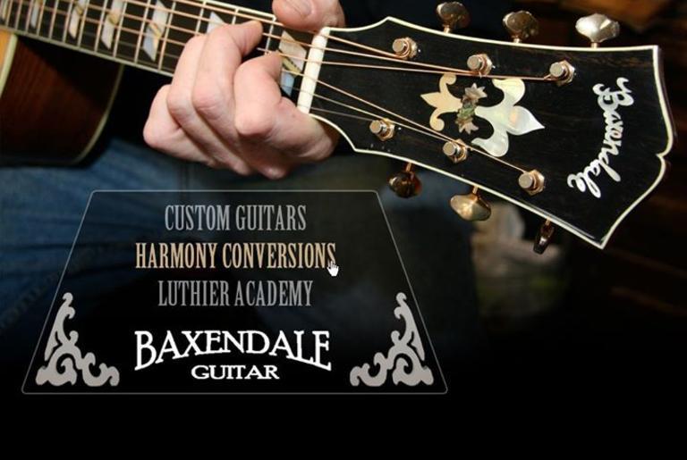 baxendale-guitar-logo
