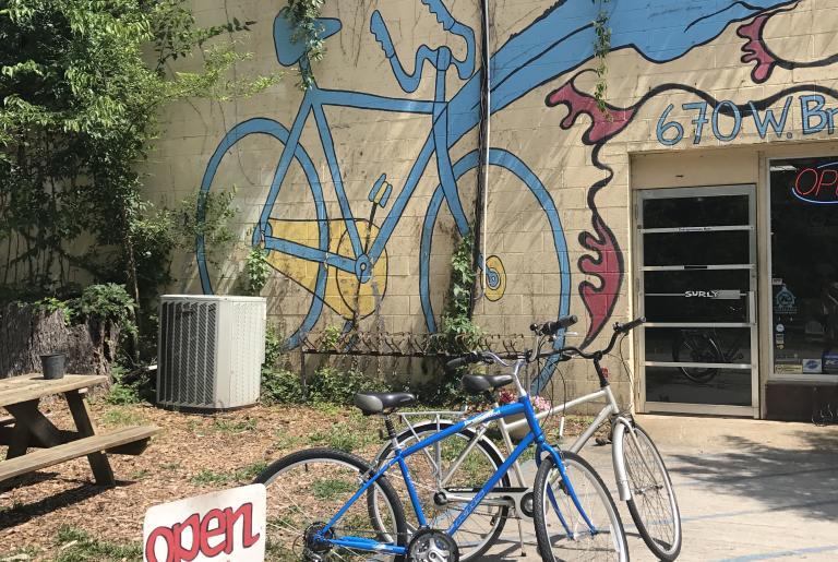 Ben's Bikes murals