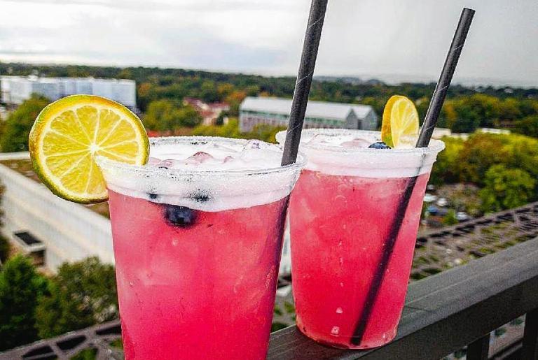 Hybar Athens Blueberry Margarita