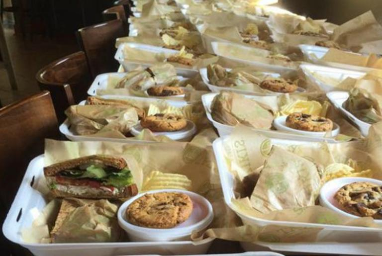 Taziki's Athens GA Boxed Lunches