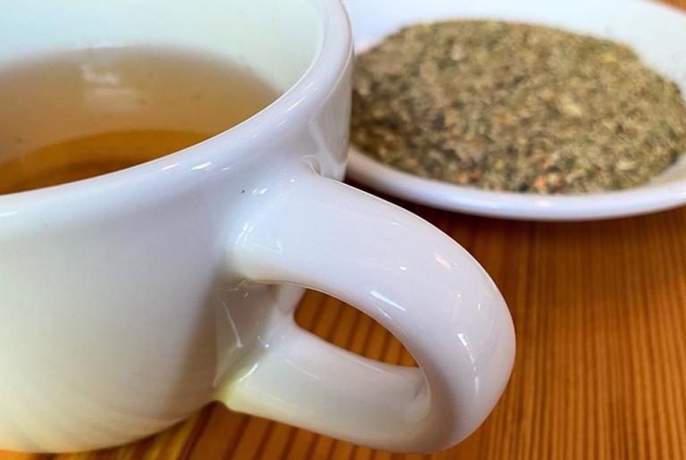 Cafe on Lumpkin Tea leaves