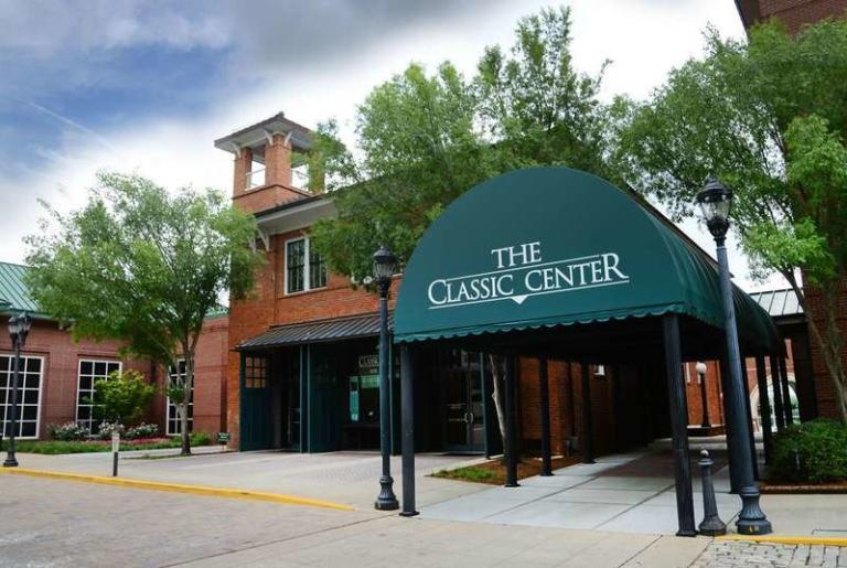 Classic Center Thomas St. Entrance