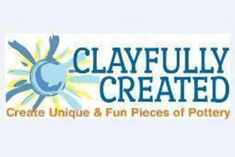 clayfully created logo
