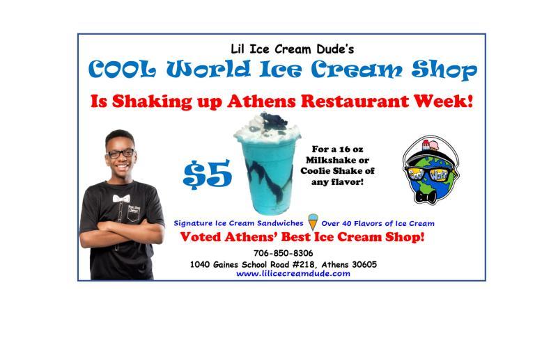 Cool World Restaurant Week 2021