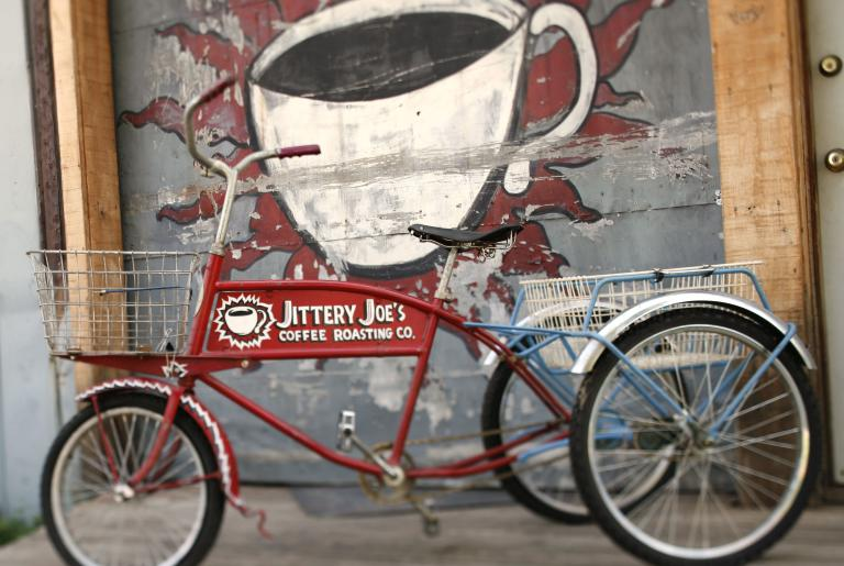 Jittery Joe's Delivery Trike