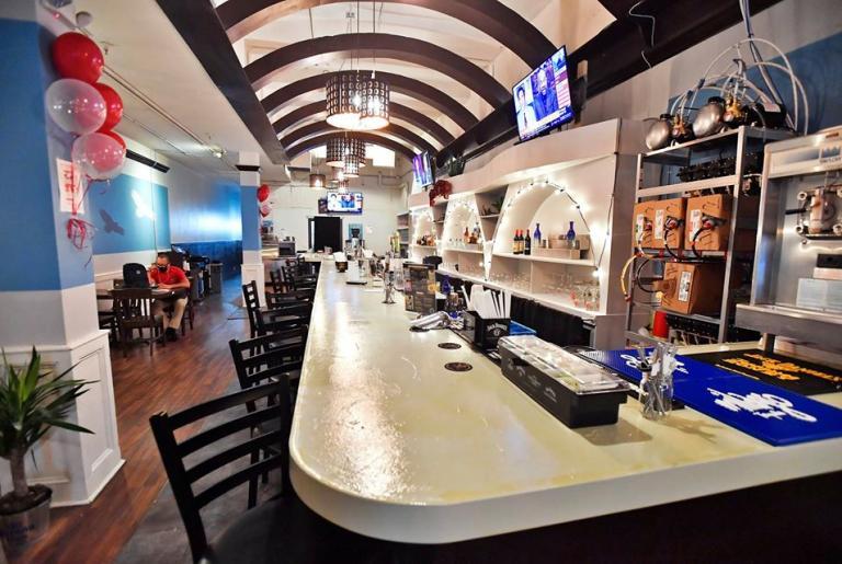 El Azteca Athens bar