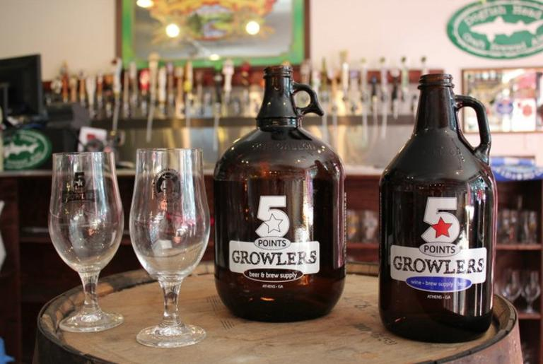 Five Points Growlers