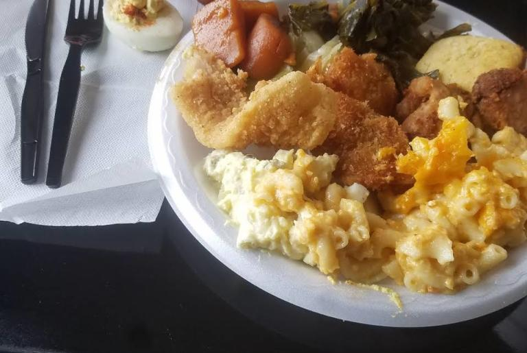 Food for the Soul plate