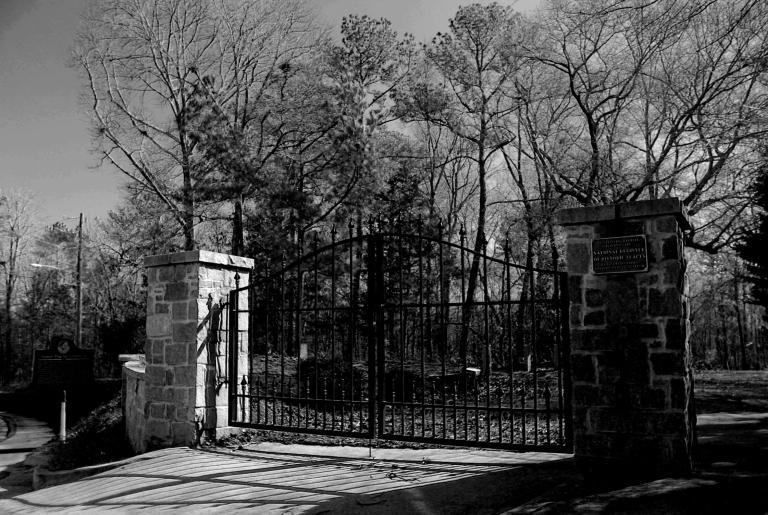 Gospel Pilgrim Cemetery Entrance