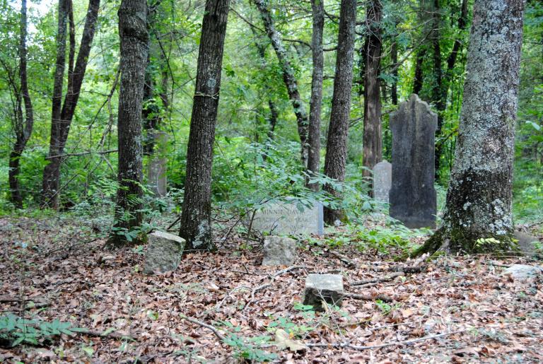 Gospel Pilgrim Cemetery Headstones