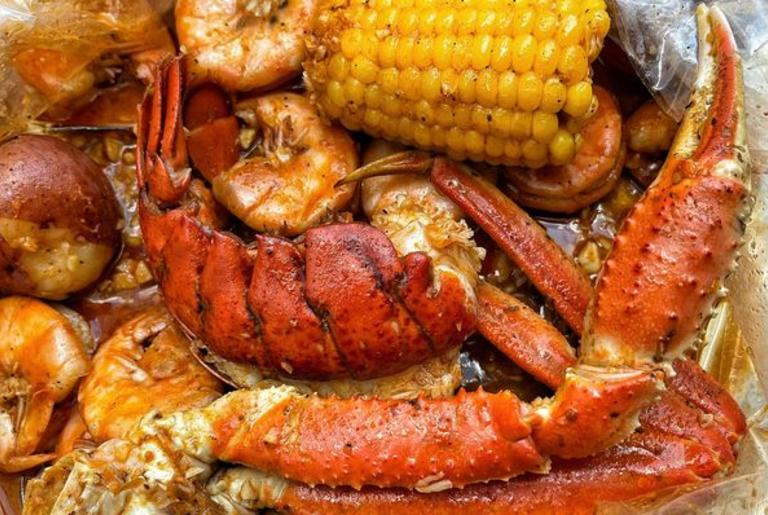 Hook & Reel Athens Seafood Boil