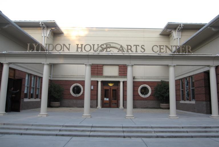 Lyndon House Arts Center entrance