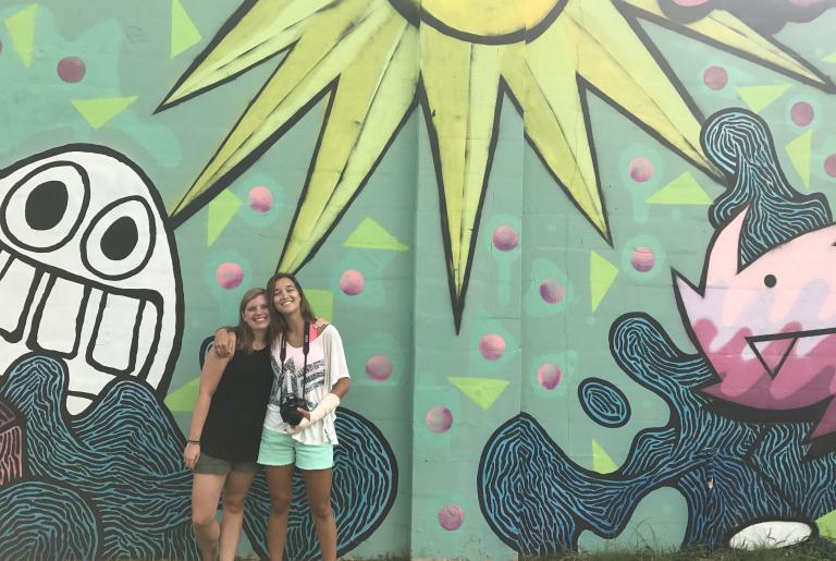 Journey Juice murals