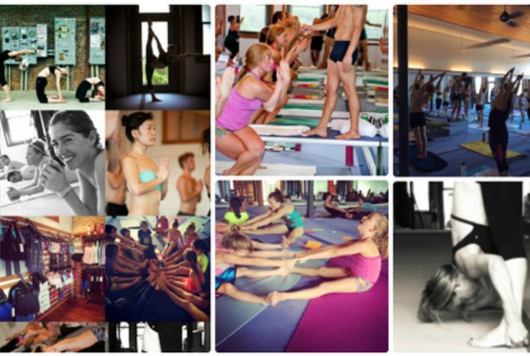 Bikram Yoga Athens collage 2