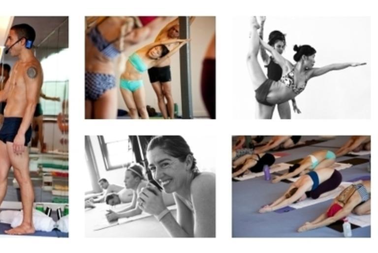 Bikram Yoga Athens collage