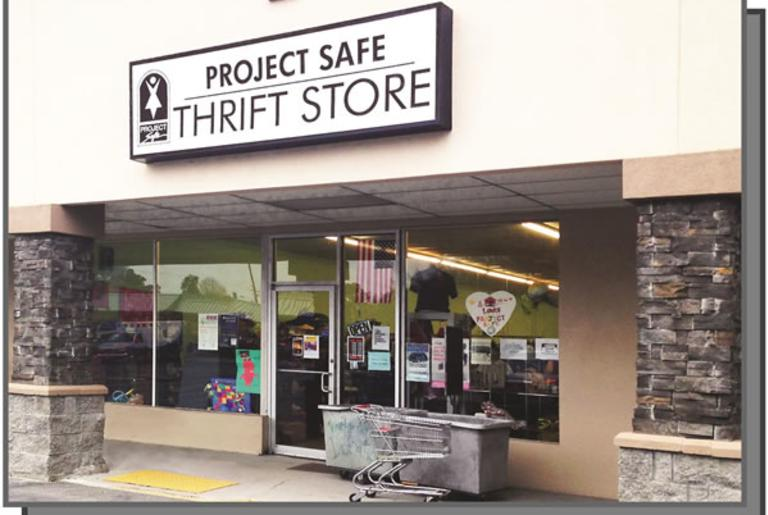 Project Safe Thrift Store Front