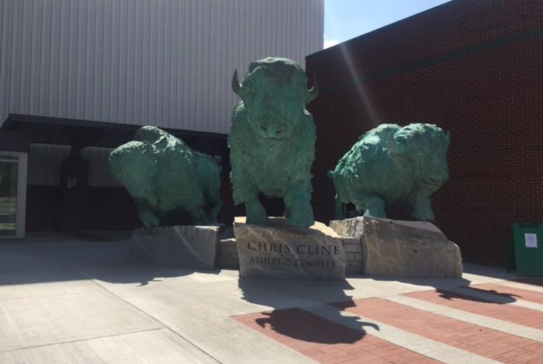 Ashes to Glory Monument at Marshall University.