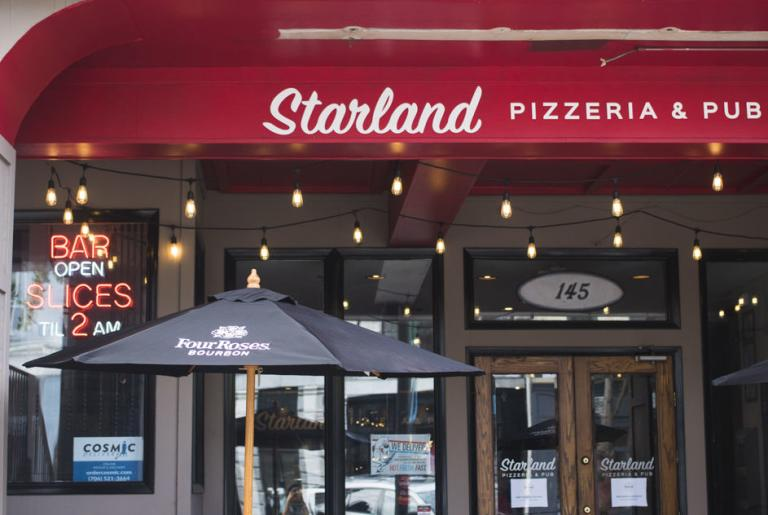 Starland Pizza Athens exterior