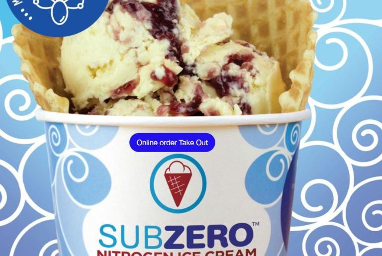 Subzero Nitro Ice Cream