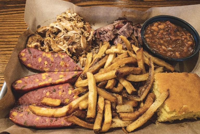 Tamez Barbecue plate