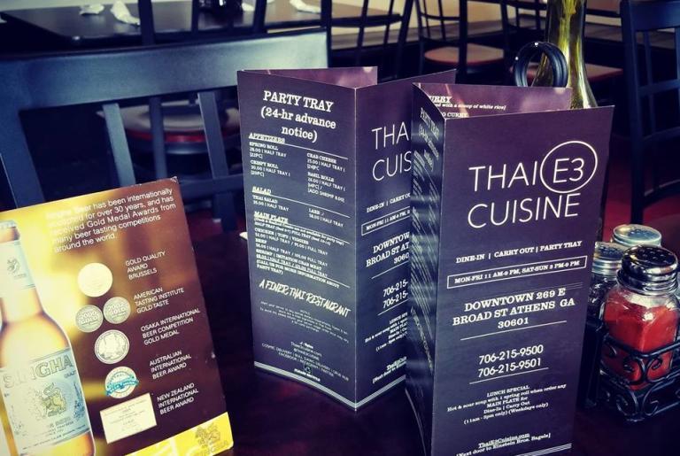 thai E3 cuisine