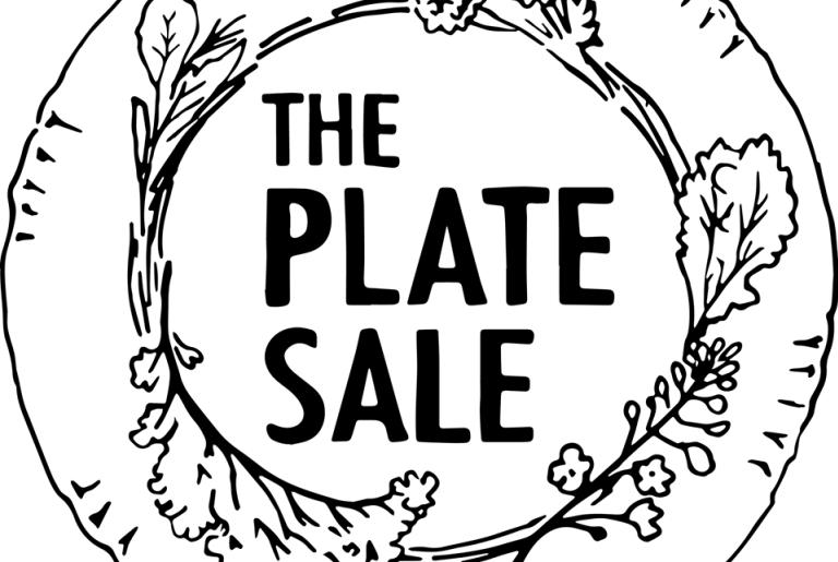 The Plate Sale Logo