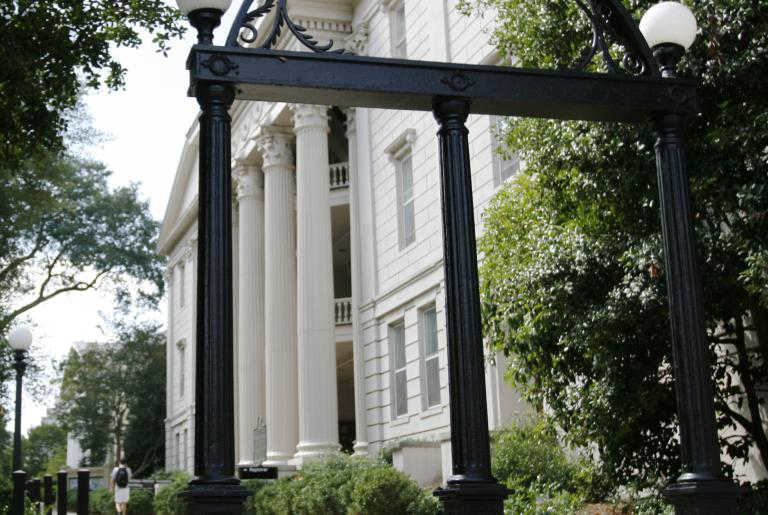 UGA Arch and North Campus