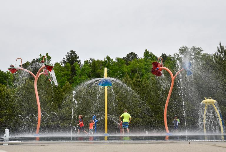 Walker Park Splash Pad