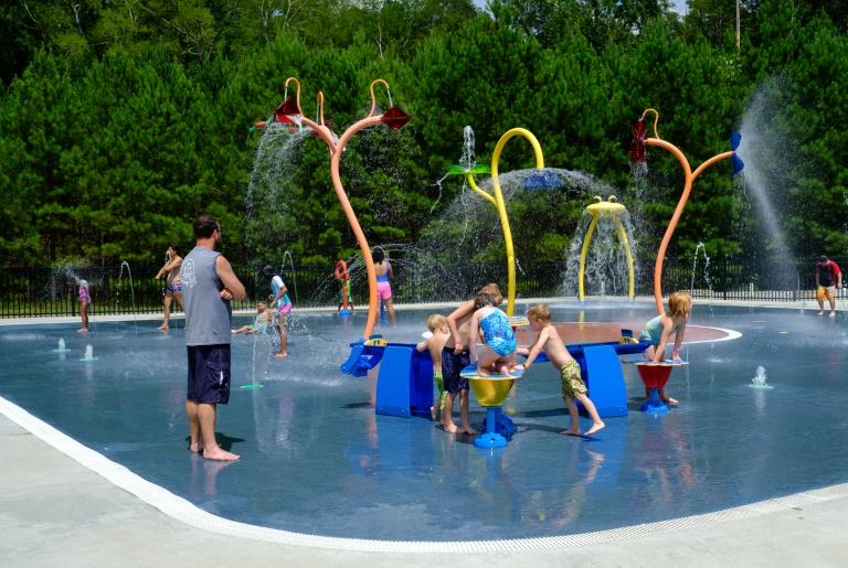 Walker Park Splash Pad 2