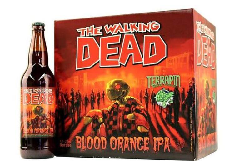 Walking Dead Blood Orange IPA, from Terrapin Brewery