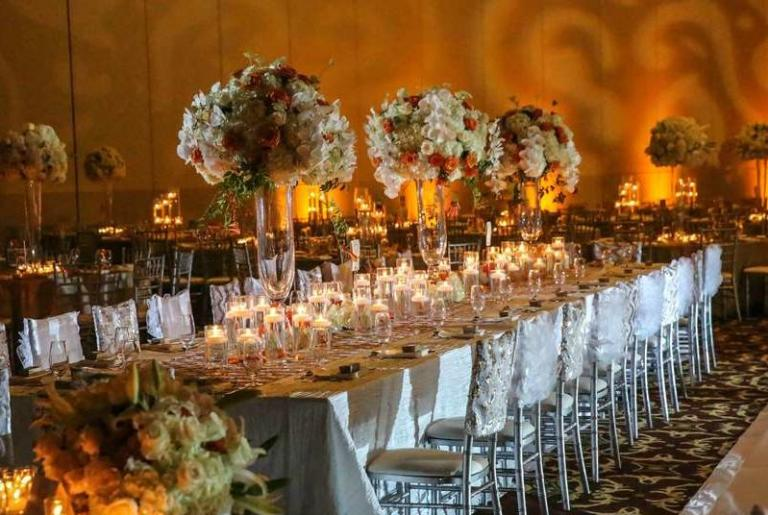 Wedding table at The Classic Center