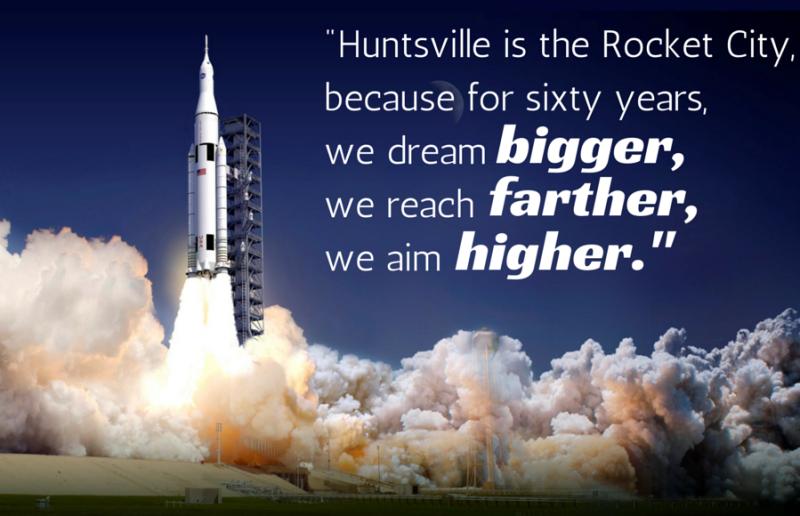 In Huntsville, we dream bigger.