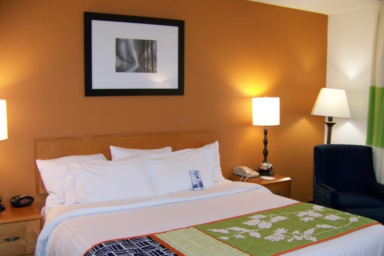 Fairfield Inn King bed