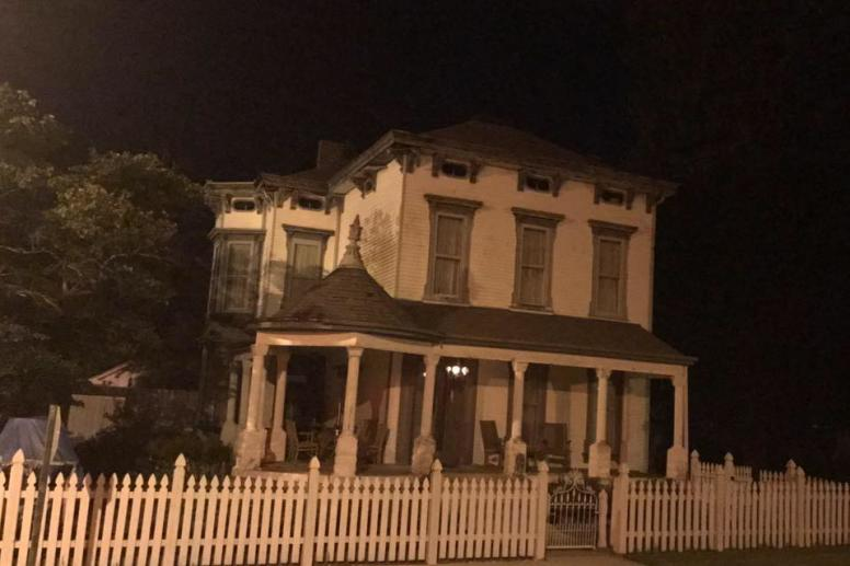 Haunted Asher Walton House