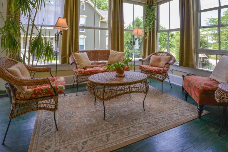 Sun Room Prairie Guest House