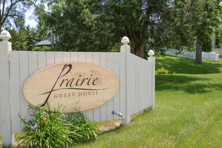 Prairie Guest House Sign