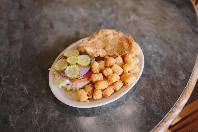 Tenderloin-Sandwich
