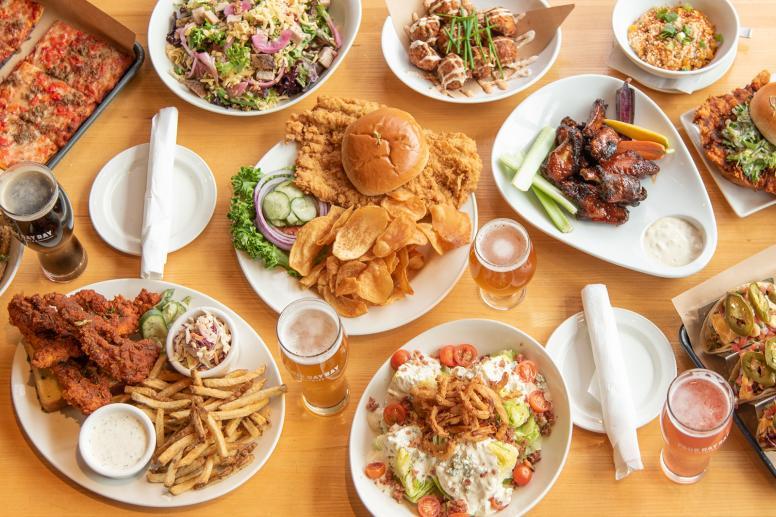 Lunch & Dinner Service