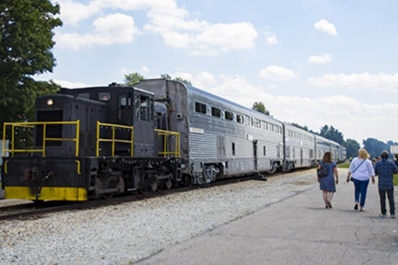 Nickel Plate Express train