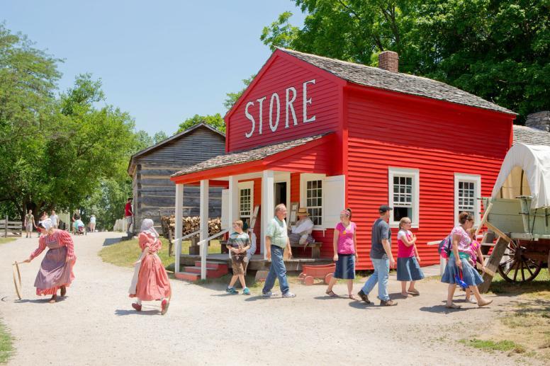 1836 Prairie Town