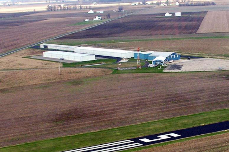 Sheridan Airport Runway
