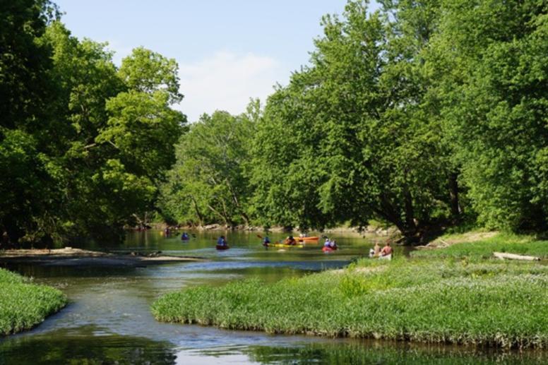 Springtime on the river