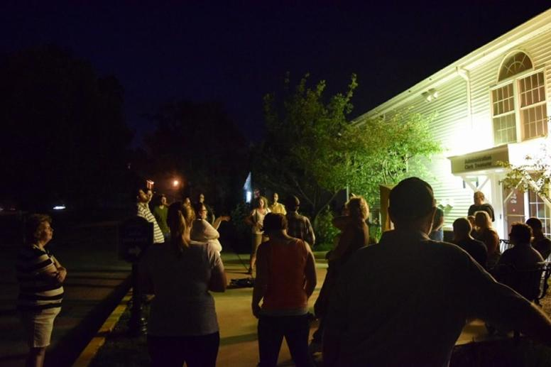 Westfield Ghost Walk at old Church