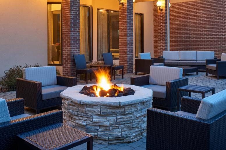 Outside Courtyard Fire Pit