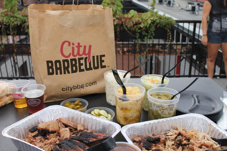 City BBQ party pack