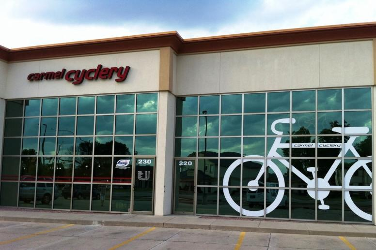 Carmel Cyclery store front
