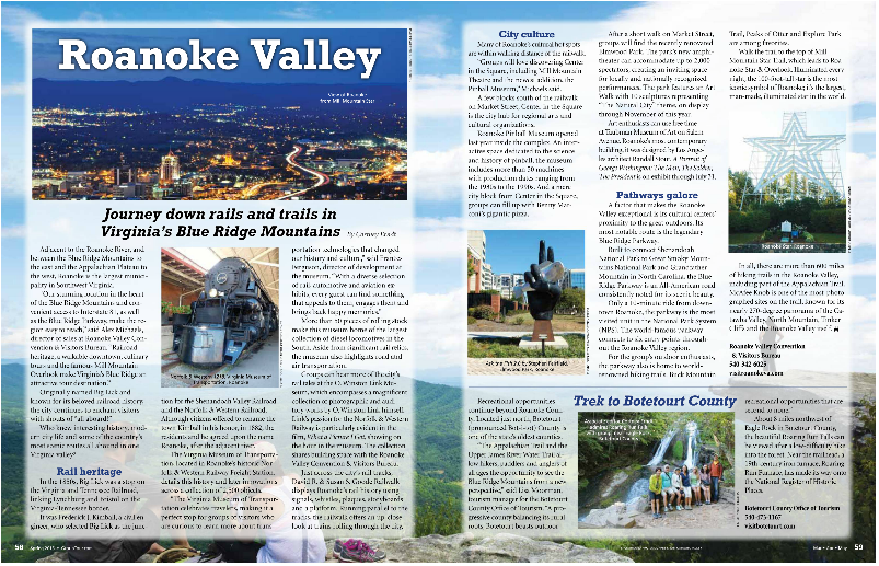 Rails and Trails article