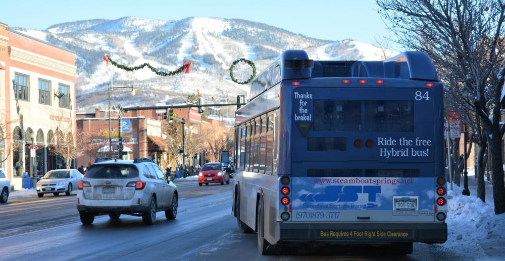 The Steamboat Free Bus takes you everywhere you need to go!