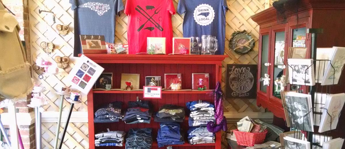 Oak City Collection, a variety shop located in Downtown Smithfield, NC.